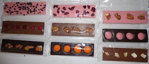 Шоколадная плитка маленькая 35 гр