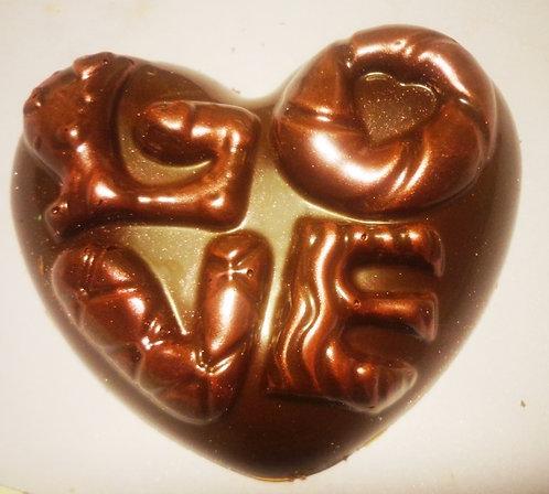 Сердце LOVE (80 гр, 8*6,5 см)