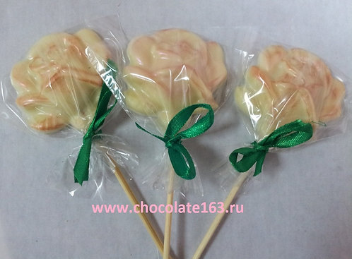 роза на палочке-3 (20 гр)