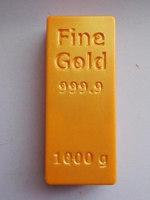 Золотой Слиток (100 гр, 10*4,5 см)