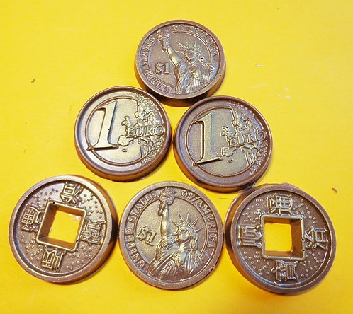Монетки (10 гр, 4* 4 см)