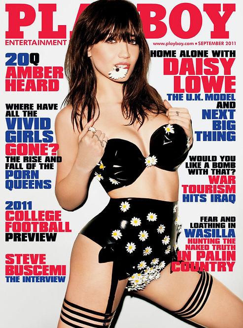 Autographed Playboy Magazine
