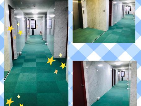 きれいな廊下になりました★☆★☆★