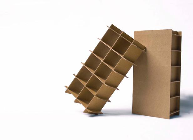 Paper pallet foot