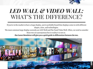 LED Wall & Video Wall: What's the difference?