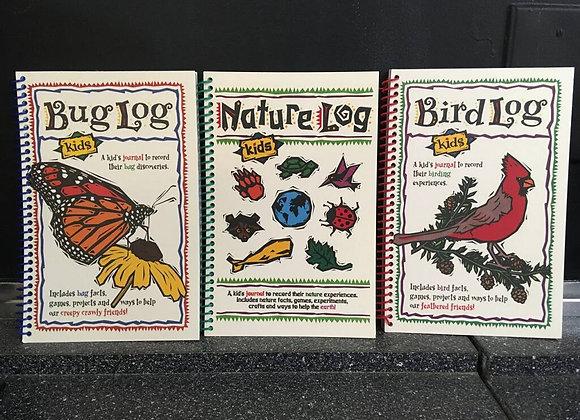 Children's Activity Log Books