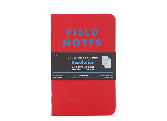Field Notes Resolution