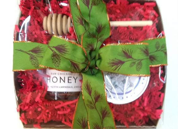 Wildflower Honey and Wildflower Seed Bomb Set