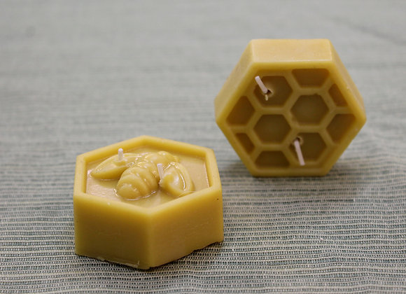 Beeswax Hexagon Candles