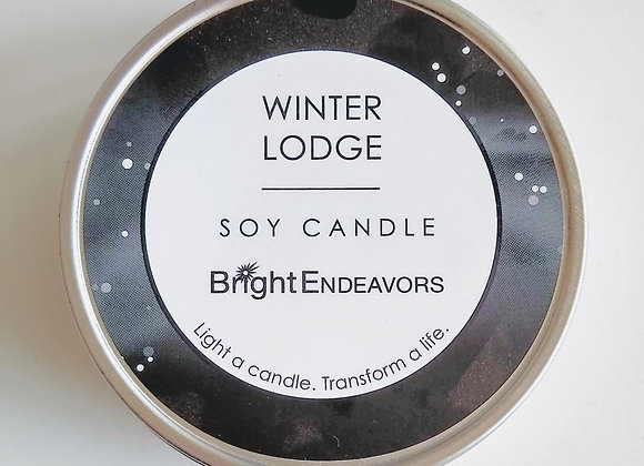 Scented Soy Candle - Winter Lodge