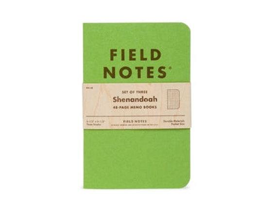 Field Notes Shenandoa