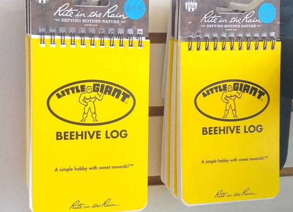 Beehive Log Book