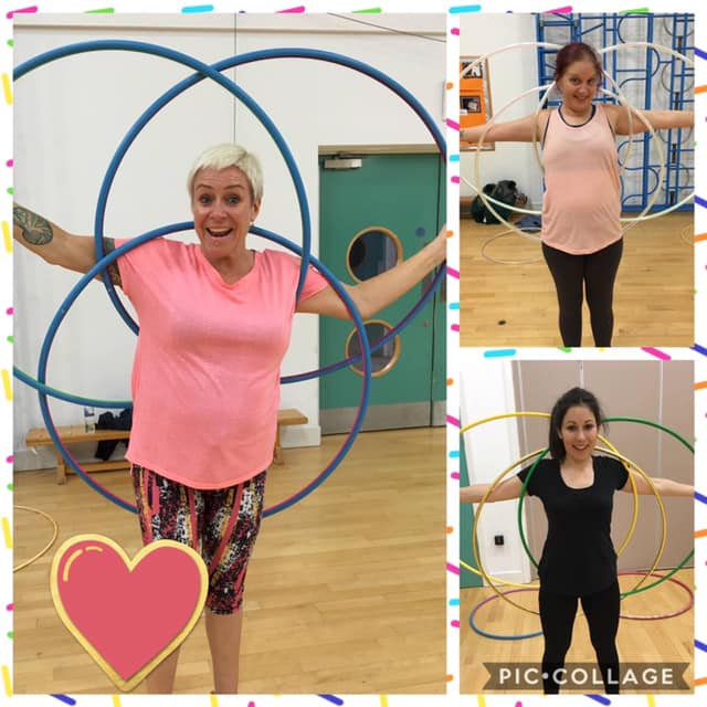Hula Hoop Fitness and Tricks (Adult)