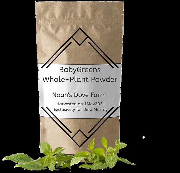 Noah's Dove Farm BabyGreens powder