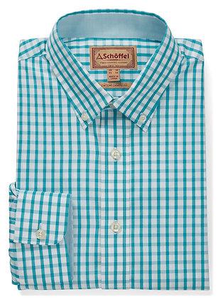 Harlyn Tailored Shirt (Sea Blue)