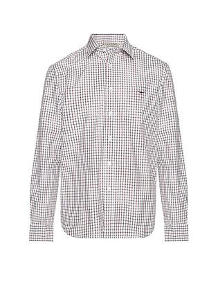 Collins Shirt (White/Blue/Rust)