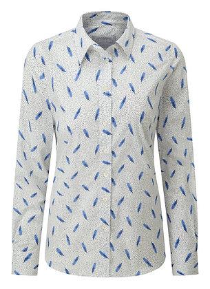 Norfolk Shirt (Sprig Cobalt)