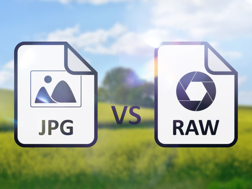 A quick look at the differences between RAW and JPEG Shooting