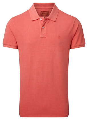 St Ives Classic Polo Shirt (Coral)