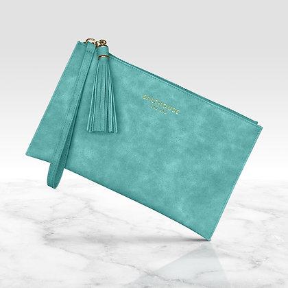 Serafina Clutch Bag (Tropical Turquoise)