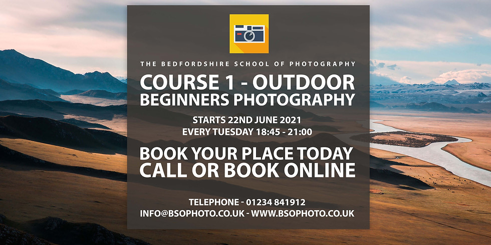 Course 1 - Outdoor Beginners Photography
