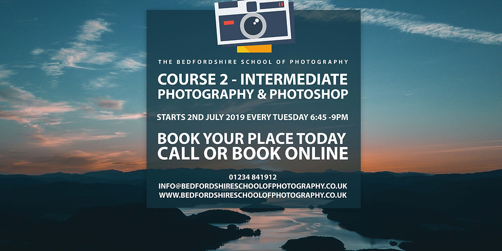 Course 2 - Intermediate Photography & Photoshop