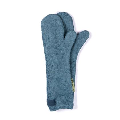 Dog Drying Mitts – For Legs & Paws (Sandringham Blue)