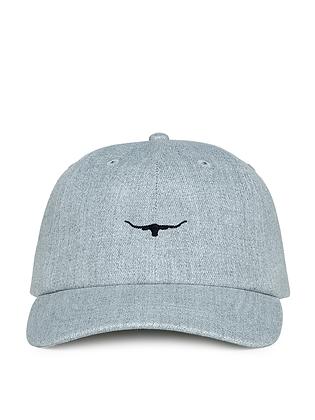 Mini Longhorn Cap (Black/Grey)