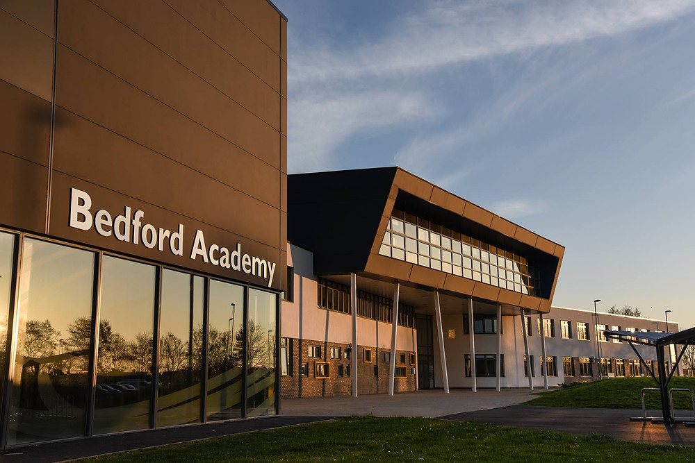 Our beginners photography courses are held at fantastic Bedford Academy