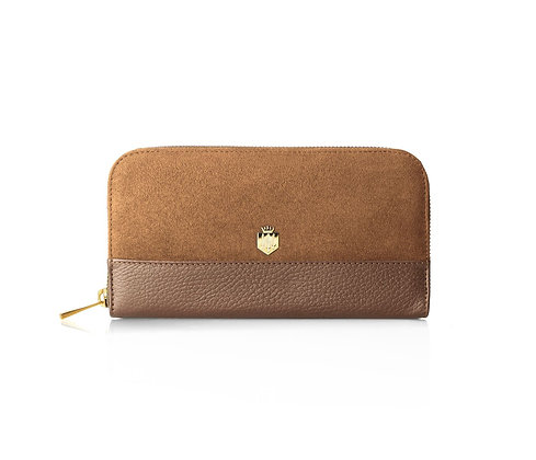 The Salisbury Purse (Tan Suede)
