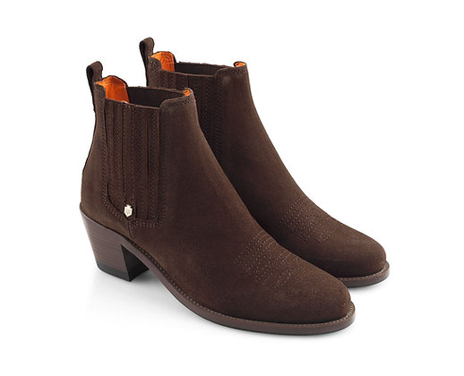 The Rockingham Ankle (Chocolate)