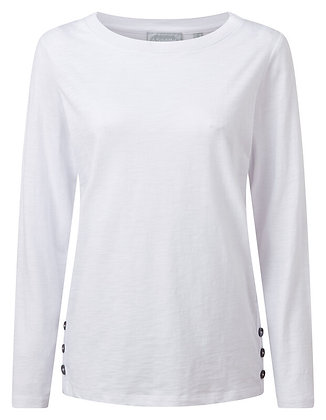Guernsey Scoop Top (White)