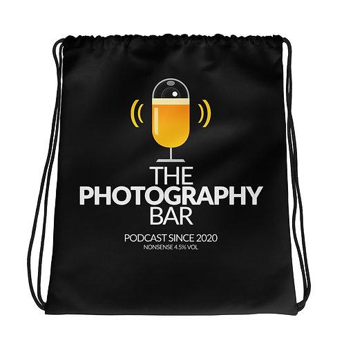 Offical Photography Bar Drawstring bag