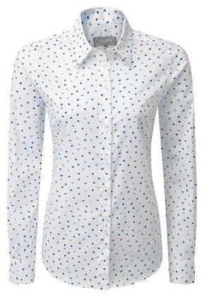 Norfolk Shirt (Cobalt Blot)