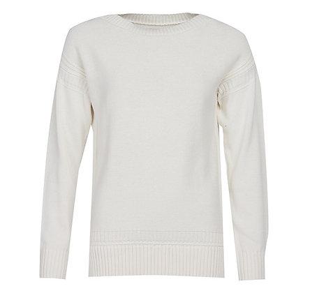 Sailboat Knit (White)