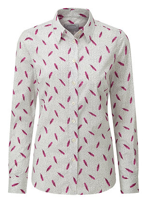 Norfolk Shirt (Sprig Raspberry)