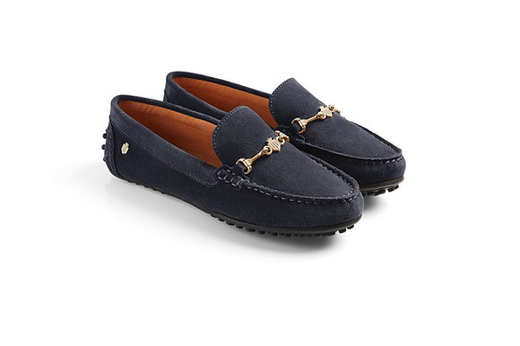 The Trinity Ladies Loafer (Navy)
