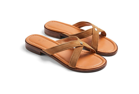 The Holkham Sandal (Tan)