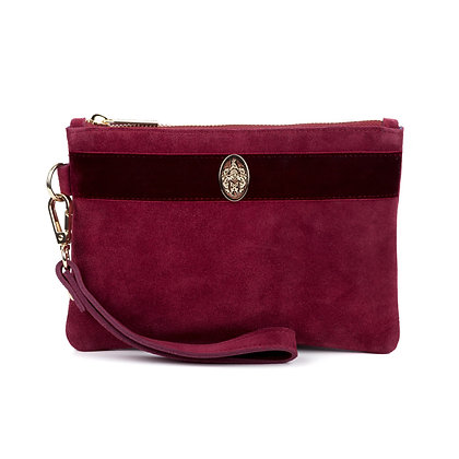 The Chelsworth Clutch Bag (Maroon)