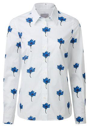 Norfolk Shirt (Cornflower Blue)