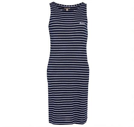 Barbour Dalmore Stripe Dress (Navy)