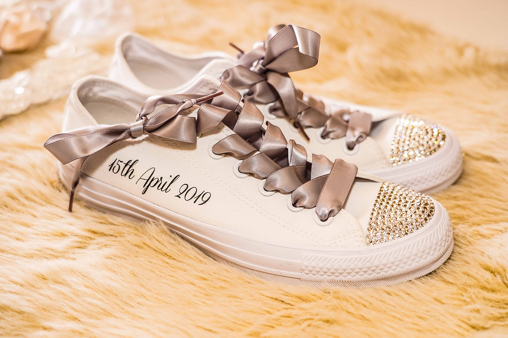 Wedding shoes and wedding photography