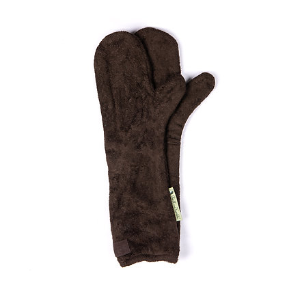 Dog Drying Mitts – For Legs & Paws (Mud)
