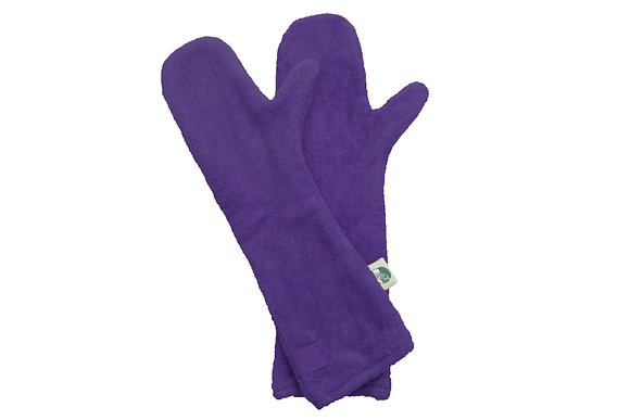 Dog Drying Mitts – For Legs & Paws (Heather)