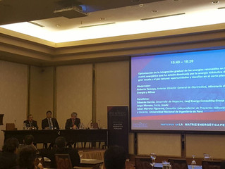 inodú Participates in Panel About Renewable Energy Integration at PENREC in Lima