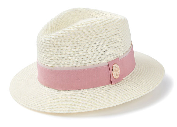 The Orford Fedora  (Dusky Pink)