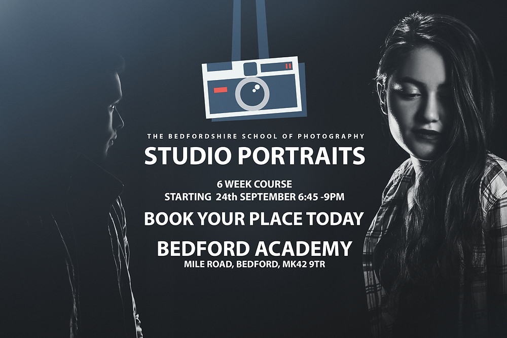 Studio Photography courses in Bedfordshire