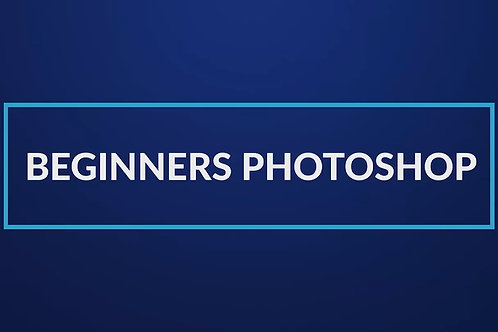 Digital Beginners Photoshop Course