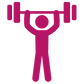 Pink Fitness Graphic