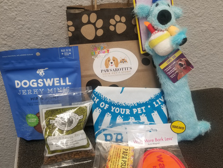 Get a FREE bag of goodies for your pets birthday!